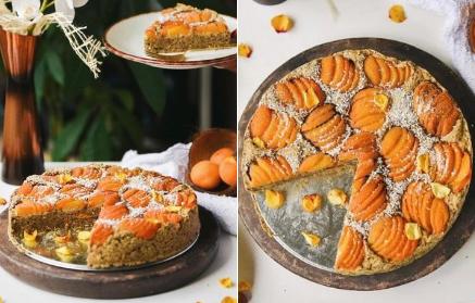 Marhuľový veágnsky koláč