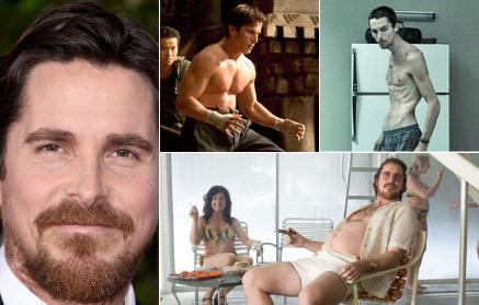 Christian Bale a slabit 27 de kilograme pentru
