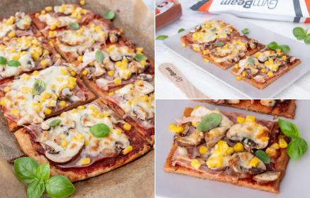 Web - Tvarohová pizza