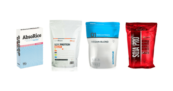 Proteine pentru vegani