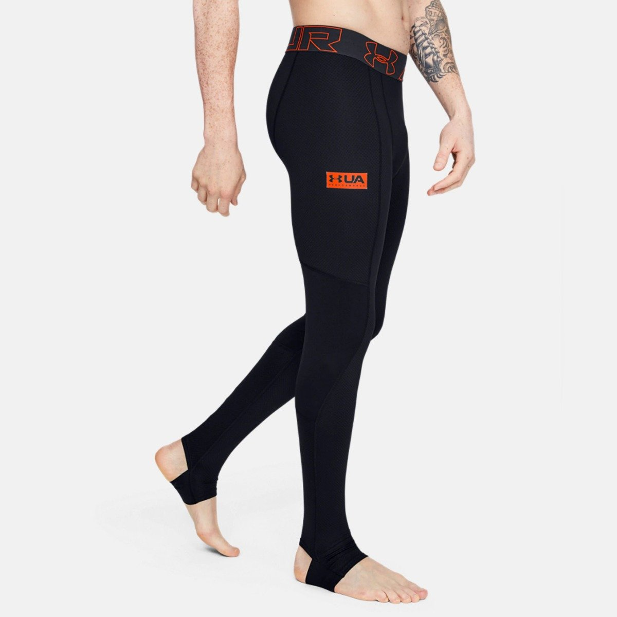 Under Armour Colanti de compresie pentru bărbati Gametime Compress Gear Legging Black XXL