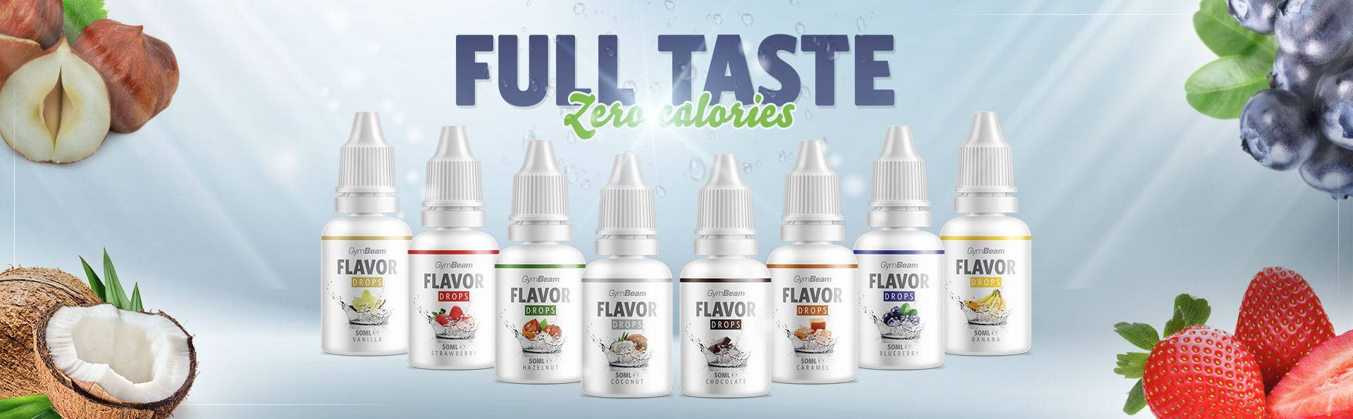 Flavor Drops 50 ml - GymBeam