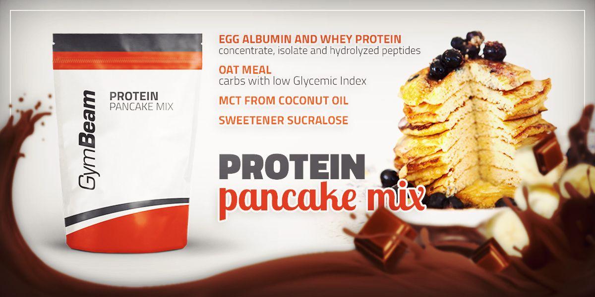 protein pancake mix proteínové palacinky gymbeam