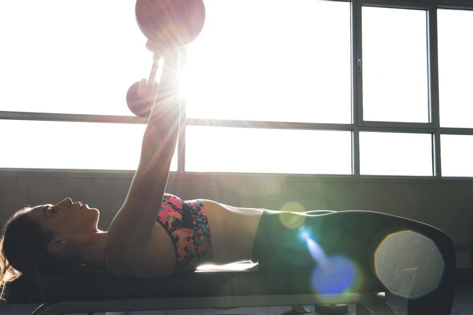 športová podprsenka na cvičenie