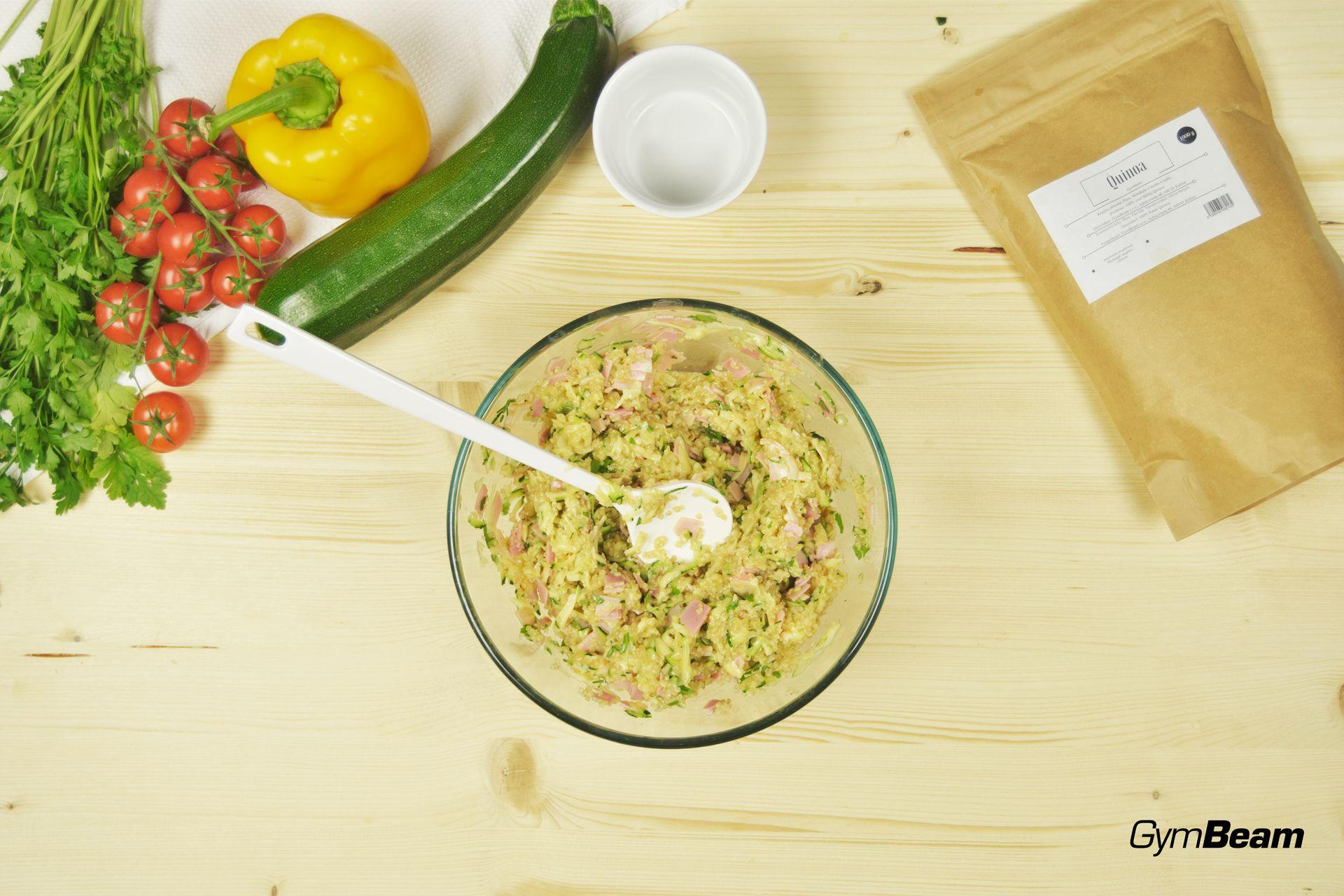 Rețetă fitness cu Quinoa - Brioșe