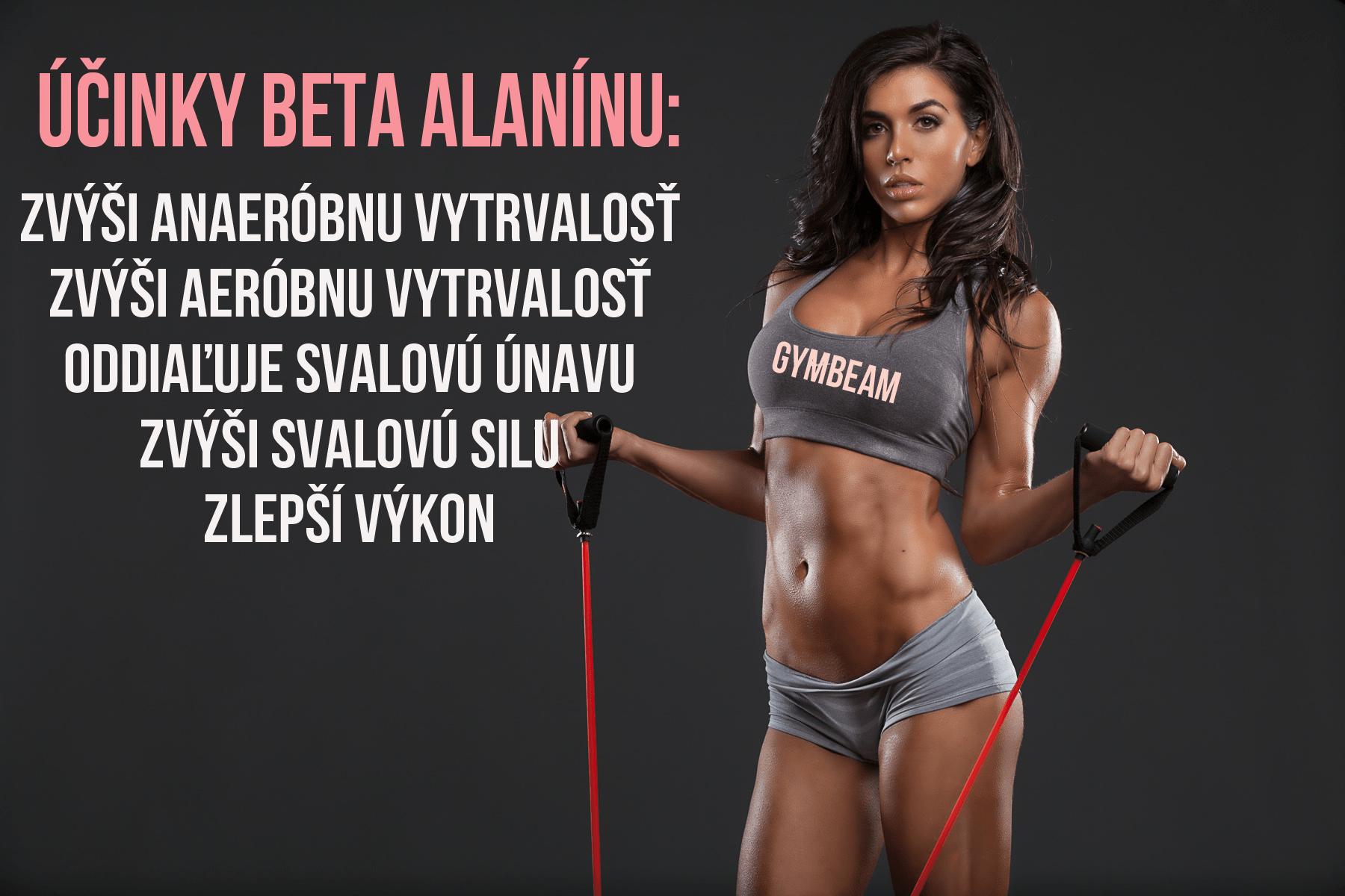 beta alanín účinky