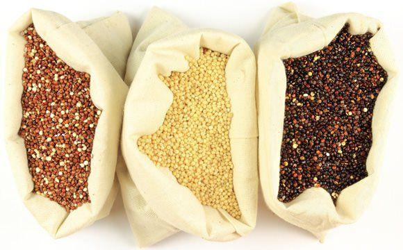 quinoa plná bielkovín